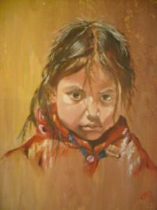 La petite boudeuse dans Peintures S63006771-225x300