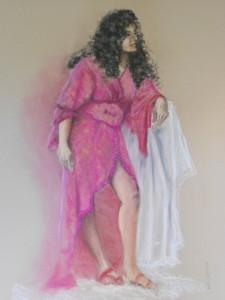 Poses d'atelier - pastels - 75 x110 dans Dessins pose-Nada-225x300